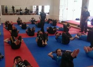 Nybegynner kurs i kickboxing for ungdom. Oppstart 22.januar